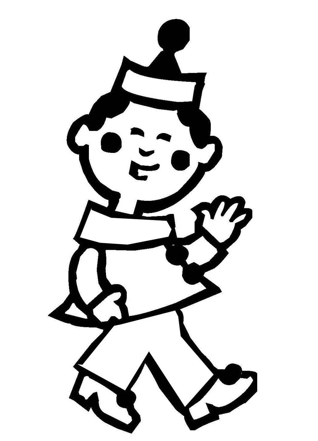 schön kostenlose malvorlage clown  top kostenlos färbung