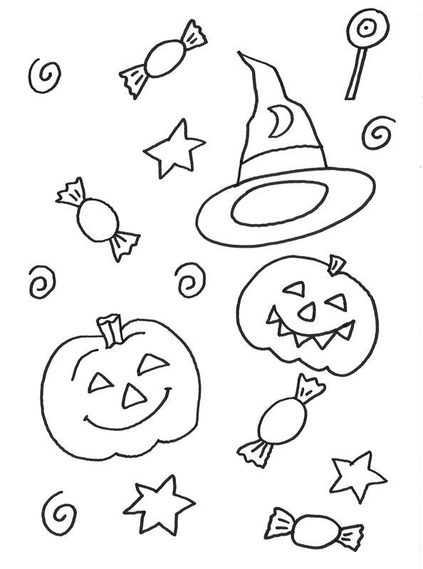 Minecraft Halloween Coloring Pages