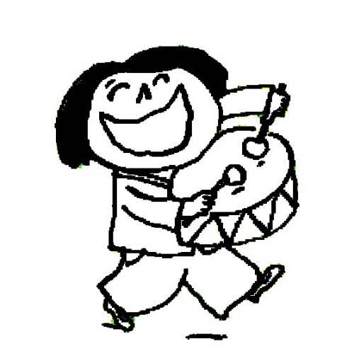 trommel spielen malvorlage  coloring and malvorlagan