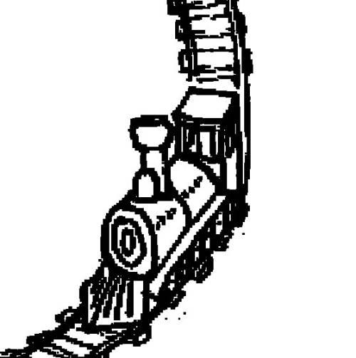 Kostenlose Malvorlage Transportmittel Lokomotive Zum Ausmalen