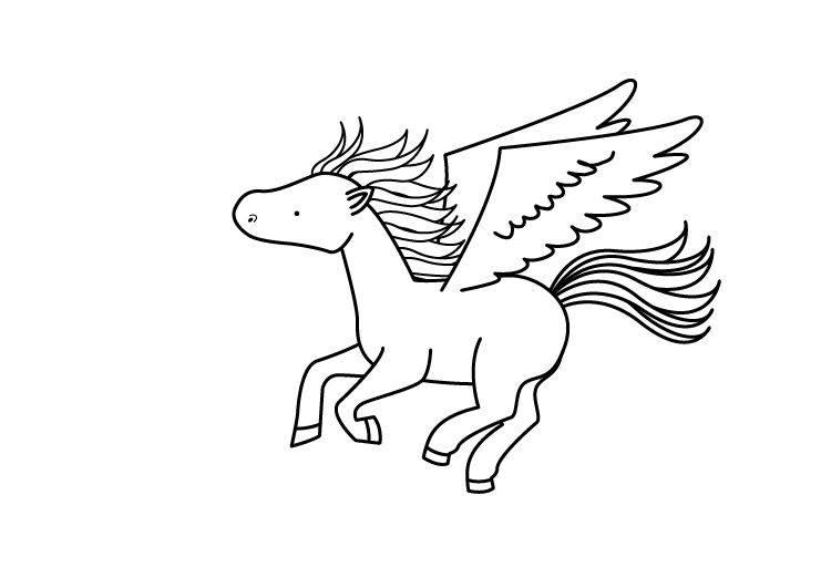ausmalbilder der griechischen mythologie fur kinder  vorlagen