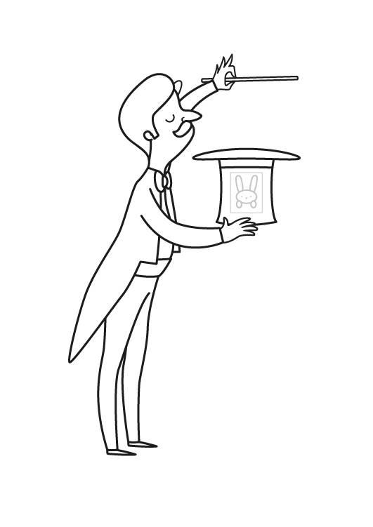 kostenlose malvorlage märchen zauberer zum ausmalen zum