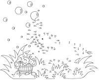 Kostenlose malvorlage einh rner einhorn am weg zum ausmalen for Seifenblasen auf englisch