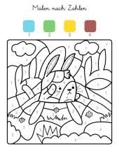 kostenlose malvorlage malen nach zahlen: malen nach zahlen: nussknacker zum ausmalen