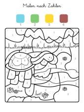 kostenlose malvorlage malen nach zahlen: schmetterling ausmalen zum ausmalen