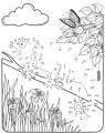 Malen nach Zahlen: Malen nach Zahlen: Chamäleon zum Ausmalen