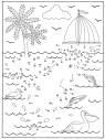 Malen nach Zahlen: Malen nach Zahlen: Delfin zum Ausmalen