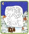 Malen nach Zahlen: Malen nach Zahlen: Weihnachtsmann zum Ausmalen
