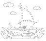 Malen nach Zahlen: Malen nach Zahlen: Segelboot zum Ausmalen