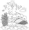 Malen nach Zahlen: Malen nach Zahlen: Vogelscheuche zum Ausmalen
