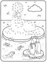 Malen nach Zahlen: Malen nach Zahlen: Walross zum Ausmalen