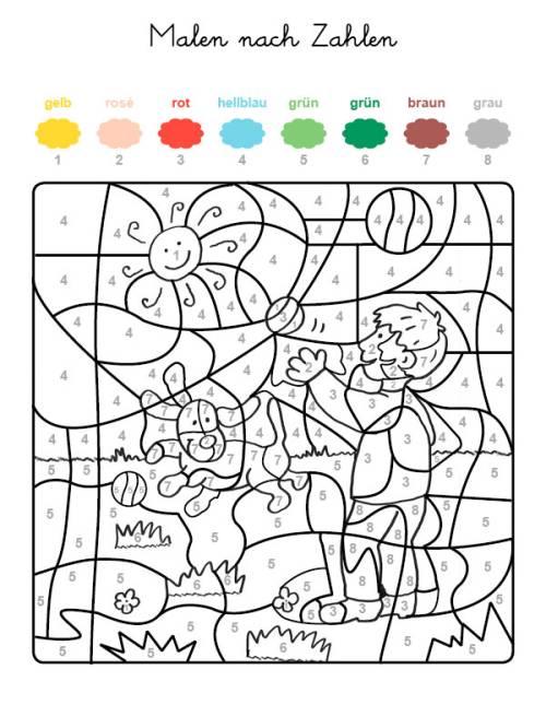 Beste Mosaik Malvorlagen Nach Nummer Ideen - Ideen färben - blsbooks.com
