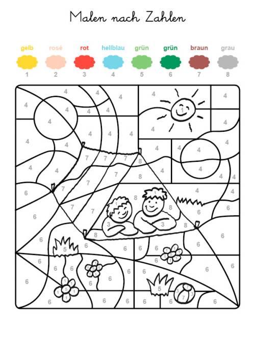 Malen Nach Zahlen FГјr Kinder