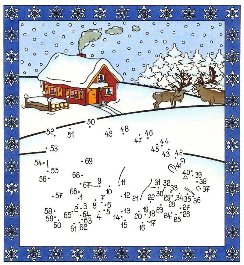 ... Malen nach Zahlen: Malen nach Zahlen: Eisbär kostenlos ausdrucken