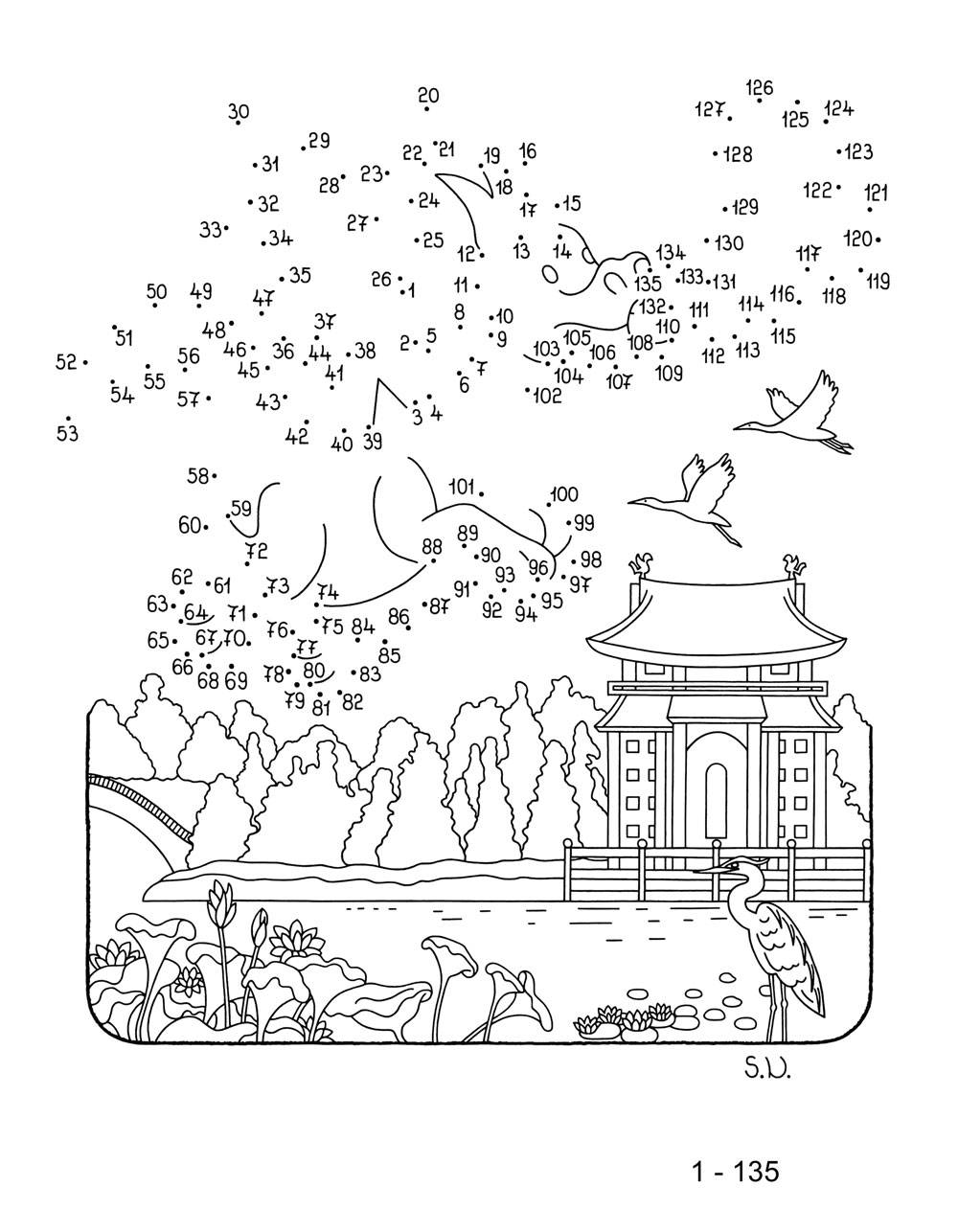 Ausmalbild Malen nach Zahlen: Flugdrache zum Ausmalen kostenlos ...