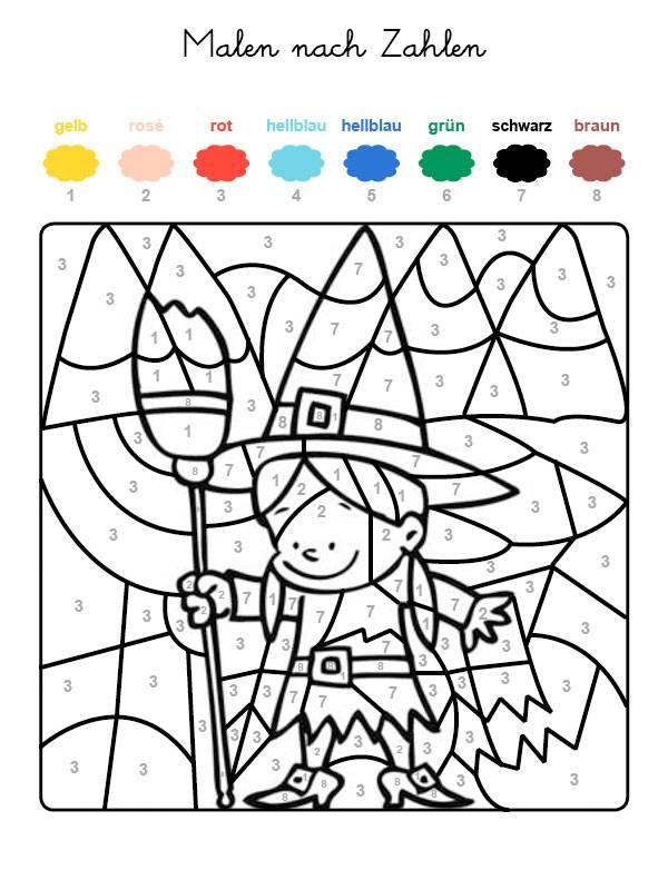 Fein Druckbare Farbe Nach Anzahl Malvorlagen Galerie - Entry Level ...