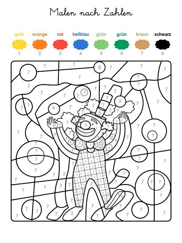 Beste Malvorlagen Nach Zahl Einfach Fotos - Ideen färben - blsbooks.com