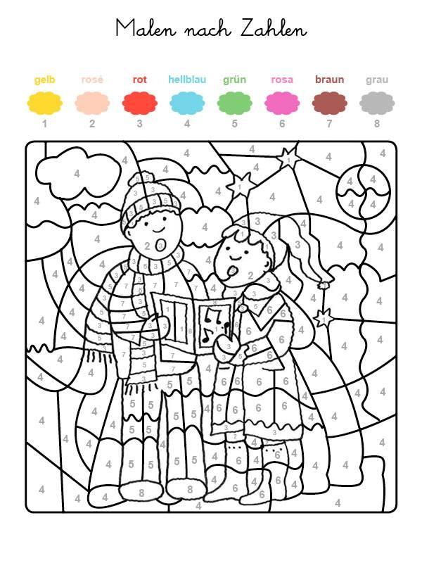 Ziemlich Farbe Nach Zahl Ausdrucken Fotos - Beispiel Wiederaufnahme ...