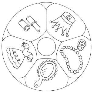 Mandalas kostenlose malvorlage mandala schmuck zum ausmalen