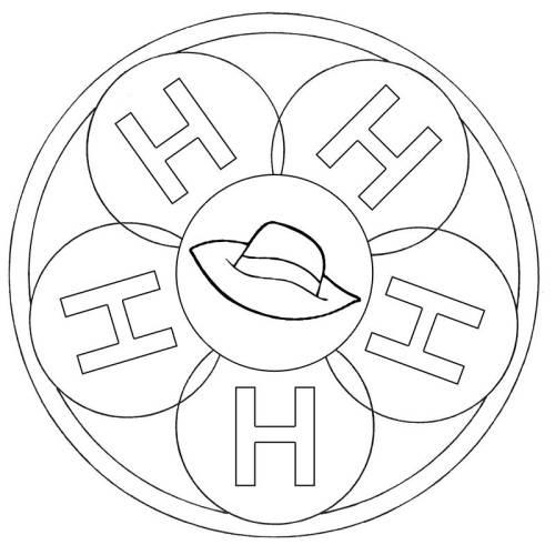 Kostenlose Malvorlage Mandalas Mandala Buchstabe H Zum Ausmalen Zum