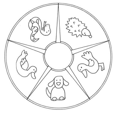 kostenlose malvorlage mandalas mandala tiere zum ausmalen