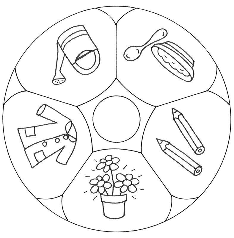 kostenlose malvorlage mandalas mandala garten zum ausmalen. Black Bedroom Furniture Sets. Home Design Ideas
