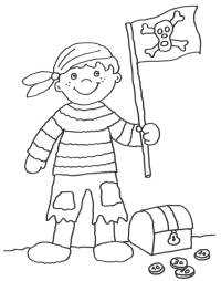 kostenlose ausmalbilder und malvorlagen: piraten zum