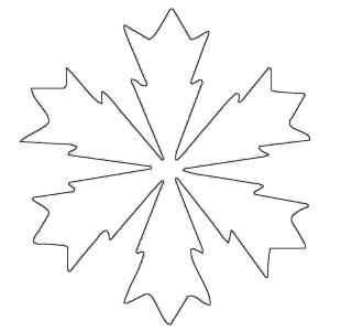 kostenlose malvorlage schneeflocken und sterne kostenlose malvorlage schneeflocke 10 zum ausmalen. Black Bedroom Furniture Sets. Home Design Ideas
