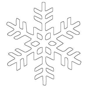 kostenlose malvorlage schneeflocken und sterne kostenlose malvorlage schneeflocke 20 zum ausmalen. Black Bedroom Furniture Sets. Home Design Ideas