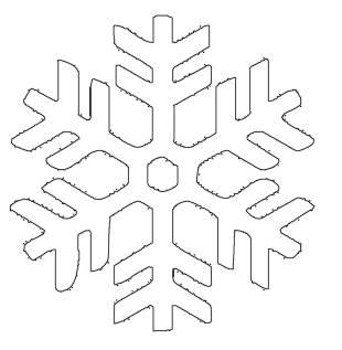 kostenlose malvorlage schneeflocken und sterne kostenlose malvorlage schneeflocke 4 zum ausmalen. Black Bedroom Furniture Sets. Home Design Ideas