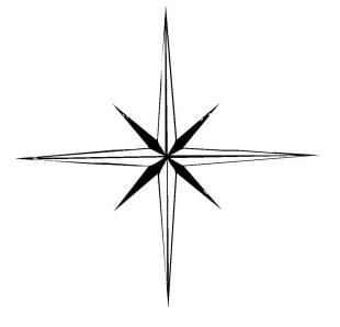 Kostenlose malvorlage stern 5