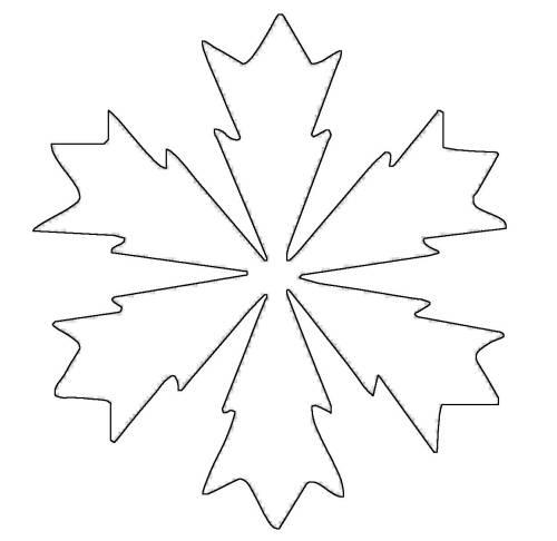 kostenlose malvorlage schneeflocken und sterne schneeflocke 10 zum ausmalen. Black Bedroom Furniture Sets. Home Design Ideas