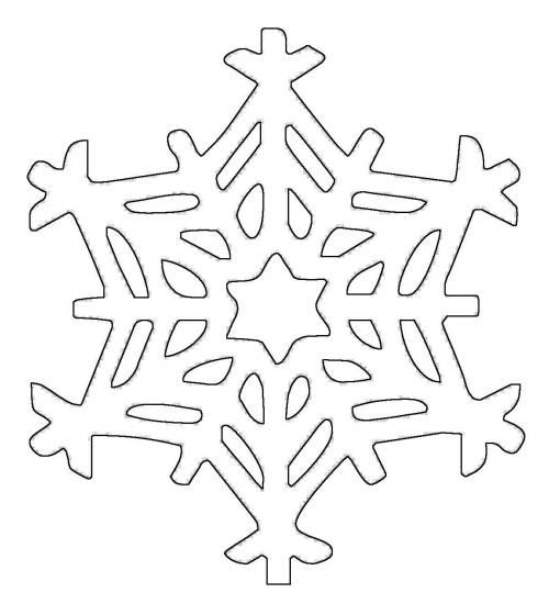 kostenlose malvorlage schneeflocken und sterne schneeflocke 12 zum ausmalen. Black Bedroom Furniture Sets. Home Design Ideas