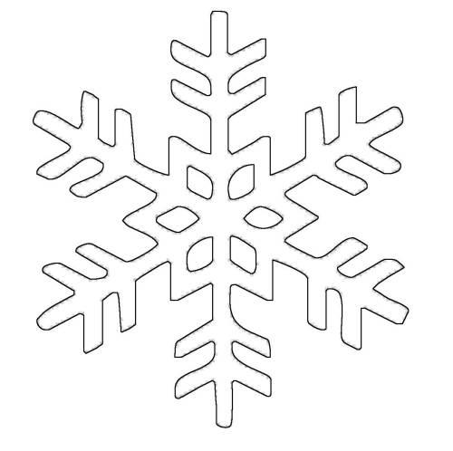 Kostenlose Malvorlage Schneeflocken Und Sterne Schneeflocke 20 Zum