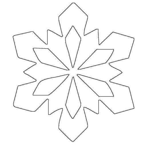 kostenlose malvorlage schneeflocken und sterne stern 13