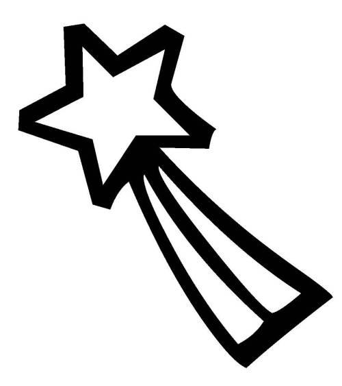Kostenlose Malvorlage Schneeflocken Und Sterne Stern 2 Zum Ausmalen