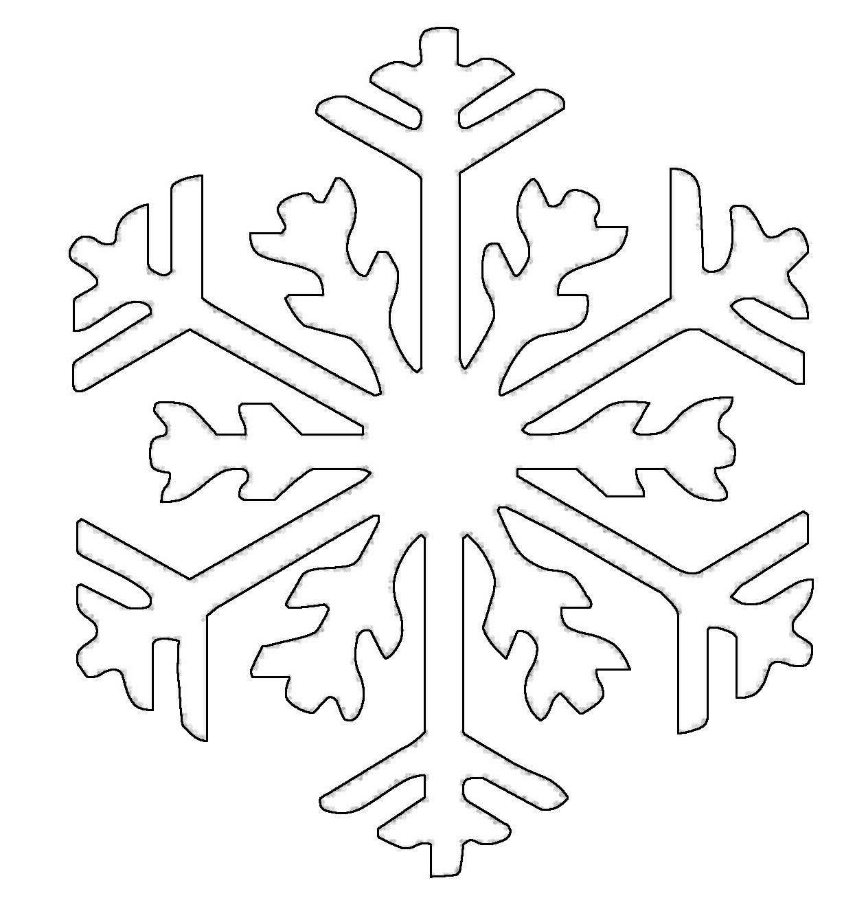 kostenlose malvorlage schneeflocken und sterne schneeflocke 13 zum ausmalen. Black Bedroom Furniture Sets. Home Design Ideas