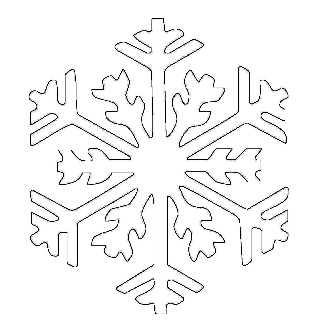 kostenlose malvorlage schneeflocken und sterne schneeflocke 15 zum ausmalen. Black Bedroom Furniture Sets. Home Design Ideas