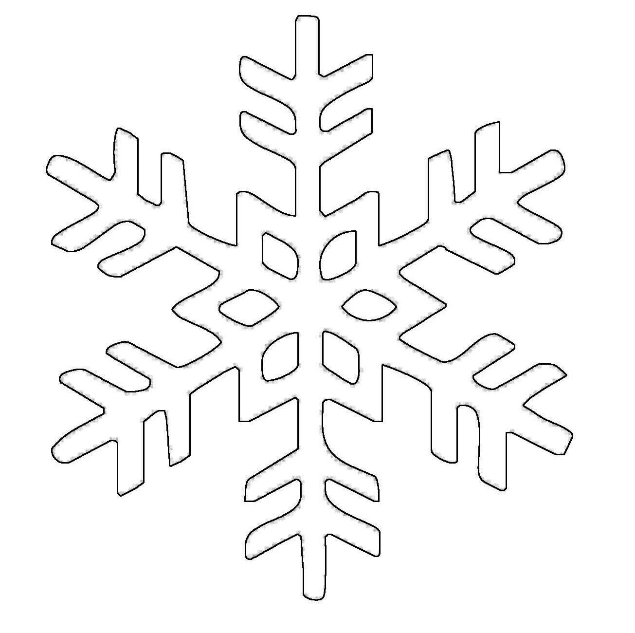kostenlose malvorlage schneeflocken und sterne schneeflocke 20 zum ausmalen. Black Bedroom Furniture Sets. Home Design Ideas