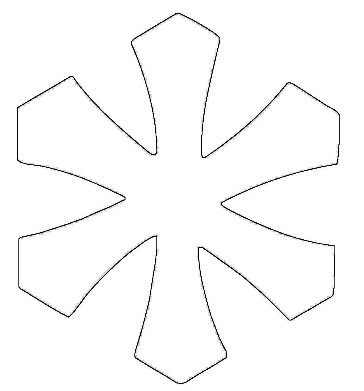 ausmalbild schneeflocken und sterne stern 10 kostenlos