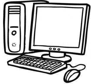 Schule kostenlose malvorlage computer zum ausmalen