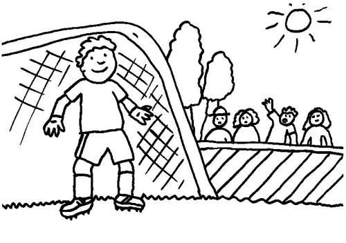 Kostenlose Malvorlage Sport Fußball Geschenk Zum Ausmalen