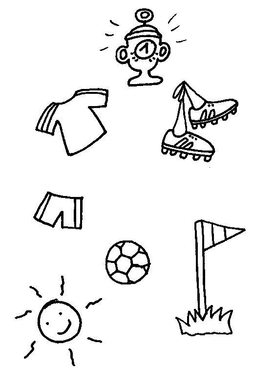 kostenlose malvorlage sport rund um fußball zum ausmalen