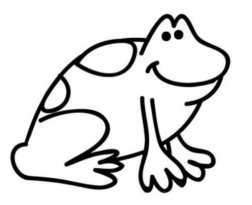 Kostenlose malvorlage tiere frosch zum ausmalen zum ausmalen - Frosch auf englisch ...