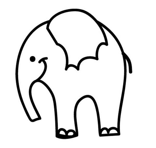 Ausmalbild Tiere Elefant Zum Ausmalen Kostenlos Ausdrucken
