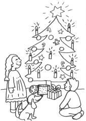kostenlose ausmalbilder und malvorlagen: weihnachten zum
