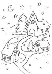 kostenlose ausmalbilder und malvorlagen weihnachten zum. Black Bedroom Furniture Sets. Home Design Ideas