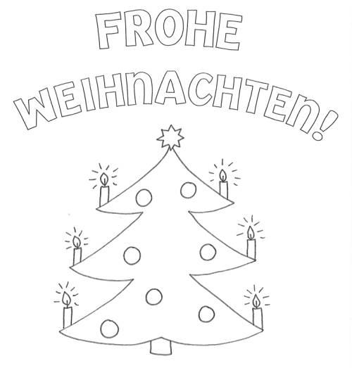 Ausmalbilder Frohe Weihnachten.Kostenlose Malvorlage Weihnachten Frohe Weihnachten Zum