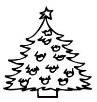 Tannenbaum Ausmalen.Kostenlose Ausmalbilder Und Malvorlagen Weihnachtsbäume Zum