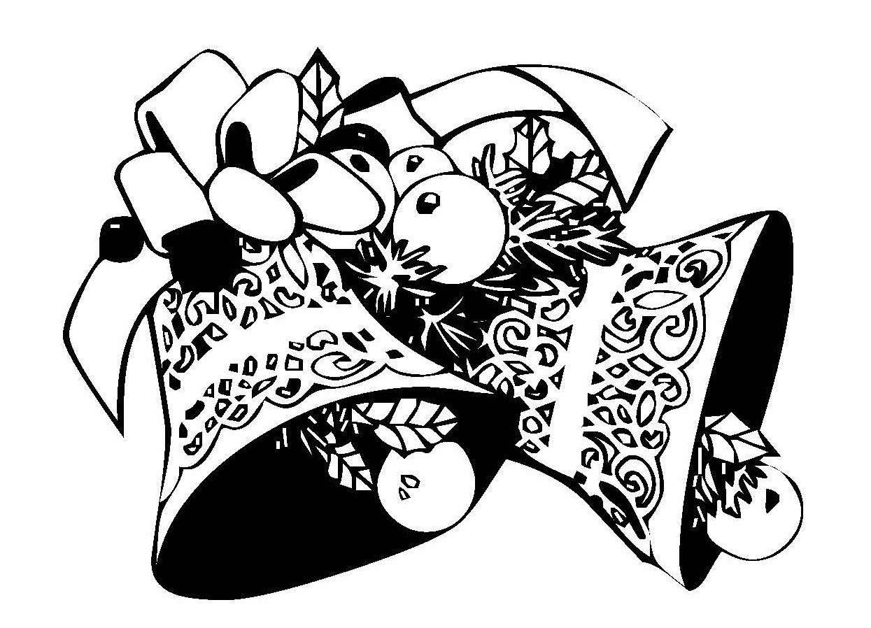 kostenlose malvorlage weihnachten geschm ckte gl ckchen zum ausmalen. Black Bedroom Furniture Sets. Home Design Ideas